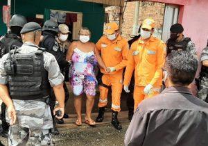 Bandido liberta refém; vítima está em recuperação de covid-19