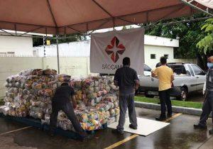 Hospital e funcionários se mobilizam para doar alimentos a trabalhadores