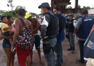 Sem autorização, balneários no Amapá são fechados por fiscalização