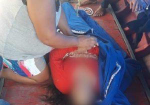 Em acidente marítimo, mulher morre ao ser arremessada de rabeta