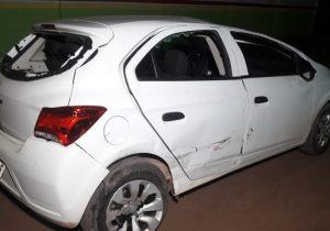 Colisão termina com a prisão dos dois motoristas