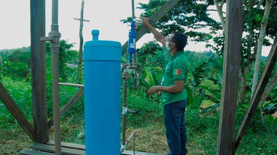 Em Pedra Branca, máquinas deixam água potável em comunidades rurais