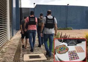 Homem é preso com 1000 pontos de LSD