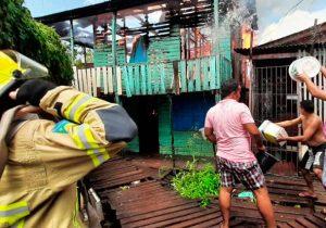 """Pintor perde casa em incêndio, mas salva o filho: """"era o mais importante"""""""