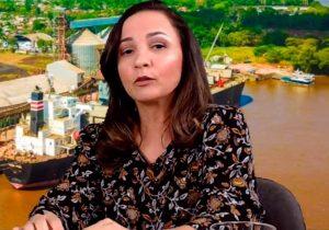 Marcivânia muda discurso e confirma pré-candidatura em Santana