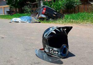 Em cruzamento perigoso, motociclista morre em colisão