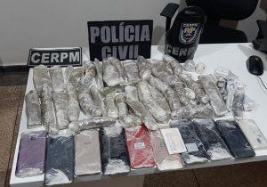 Suspeitos iriam arremessar drogas para dentro Iapen