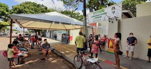 Laboratório Covid disponibiliza 35 mil testes sanguíneos para assintomáticos em Macapá