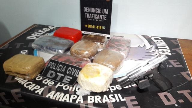 Tripulante receberia R$ 200 para entregar 12 kg de crack a desconhecido em porto