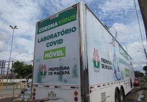 Covid: laboratório para assintomáticos chega à zona norte de Macapá