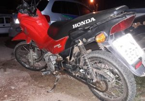 Após roubar motocicleta, jovens fazem assaltos em série, diz PM