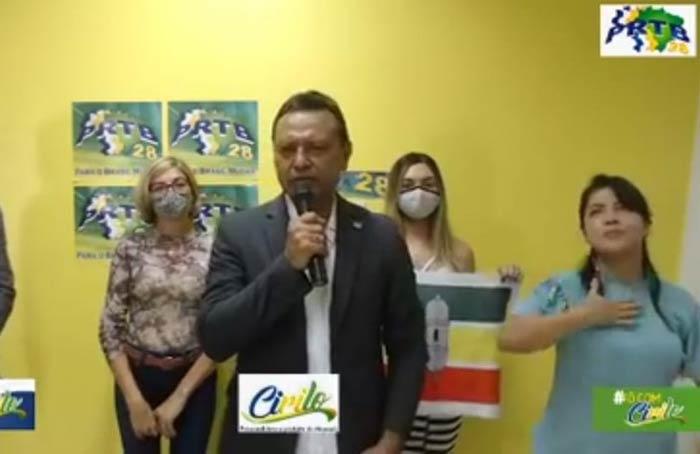 Cirilo ignora direção nacional do PRTB e pode ter convenção anulada