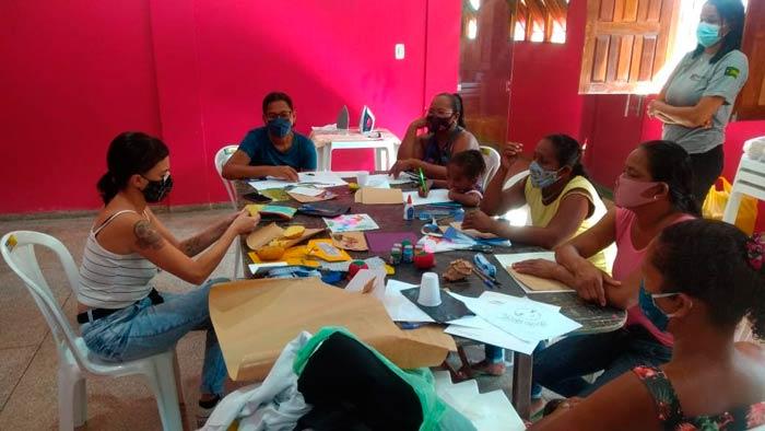 "Ferreira Gomes Energia capacita mulheres no projeto ""Casa de Costura Quilombola"""