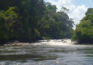 Bagagem abandonada no Rio Oiapoque tinha munições francesas