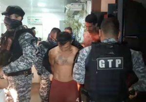 """""""Tereza"""" arrebenta e detentos caem de muralha de 8 metros"""