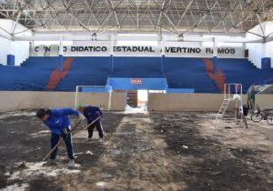 Obras revitalizam ginásio e arenas de Macapá e Santana