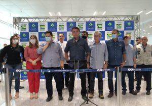 """""""Estamos nos aproximando dos 100%"""", diz Bolsonaro sobre energia em Macapá"""