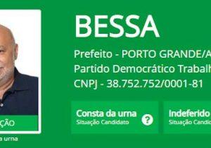 TRE mantém prefeito de Porto Grande inelegível