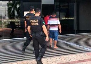Homem apanha eleitores em porto e é preso pela PF