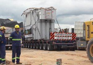 Transformador de Roraima chega ao Amapá