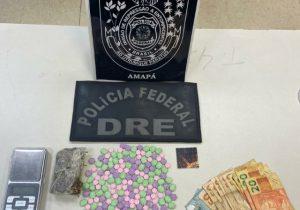 Jovem casal é preso em Macapá com drogas sintéticas