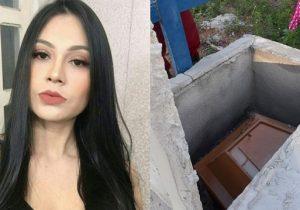 Túmulo de jovem assassinada grávida é violado