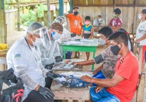 Amapá monta força-tarefa para imunizar 7,6 mil indígenas