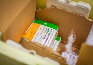 Saúde e Butantan confirmam a Randolfe chegada de 4.600 doses de CoronaVac ao Amapá