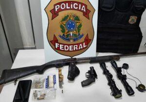 Tráfico de armas na fronteira abastece aldeias indígenas, diz PF