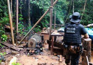 Garimpo ilegal na fronteira com a Guiana Francesa é fechado