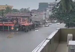 Chuvas fortes e intensas devem aumentar, diz meteorologia do Iepa