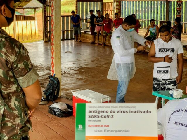 """Covid-19: o """"raio-X"""" da vacinação no Amapá"""