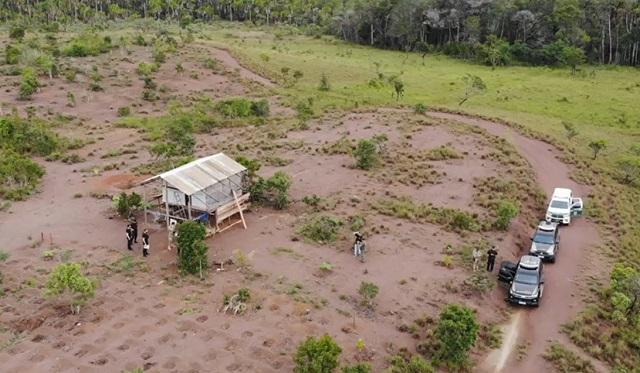 Ocupantes de área de preservação ambiental são removidos