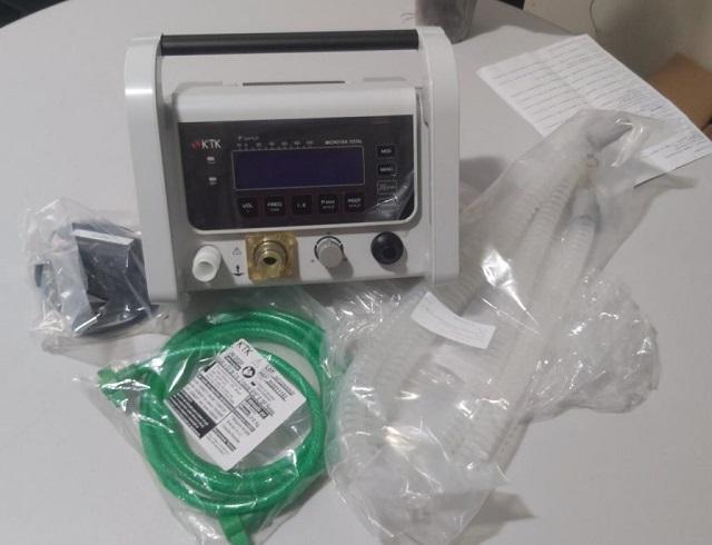 Covid-19: unidades de referência de Macapá são equipadas com respiradores mecânicos