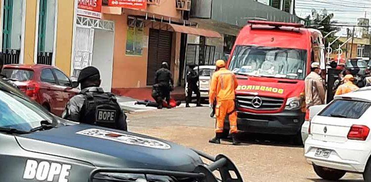 URGENTE: Perseguição termina em duas crises com reféns no Centro Comercial