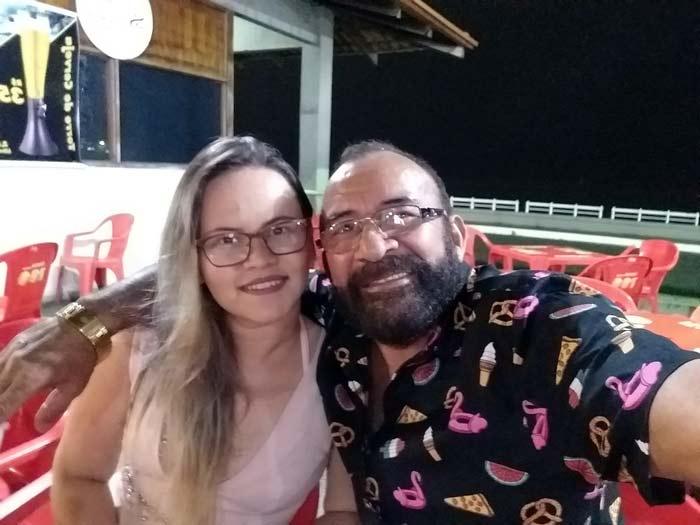 """""""Pessoas de alma escura"""", diz esposa de Barbudo Sarraf sobre fake news"""