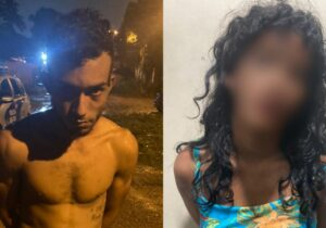 Casal rouba moto, mas é preso logo após o crime