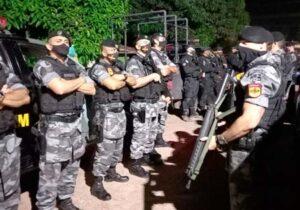 Bope continua buscas por últimos integrantes de bando que atirou em sargento