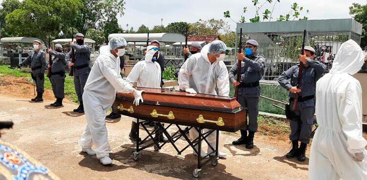 O adeus ao 16° PM morto pela covid-19