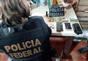 Em mais uma ação contra 'guias' de garimpos ilegais, PF apreende euros, reais e munição