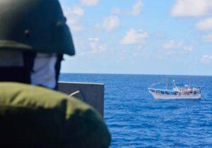 Barco venezuelano apreendido no Amapá tinha 3 toneladas de pargo