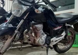 Moto roubada foi usada em pelo menos 4 assaltos, diz PM