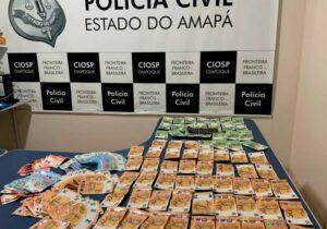 Polícia apreende 8,2 mil euros no Rio Oiapoque