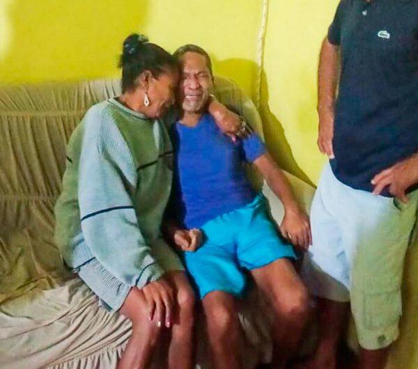 Após AVC, ex-garimpeiro é encontrado pela família 33 anos depois