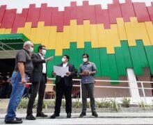 Após inspeção, Davi e Furlan anunciam data de entrega do Shopping Popular
