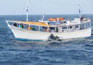 Mais um barco pesqueiro da Venezuela é apreendido no litoral do Amapá