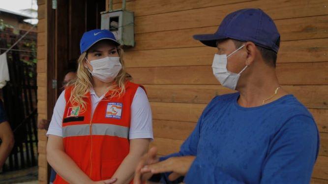Beth anuncia distribuição de gás a famílias afetadas pela pandemia em Pedra Branca