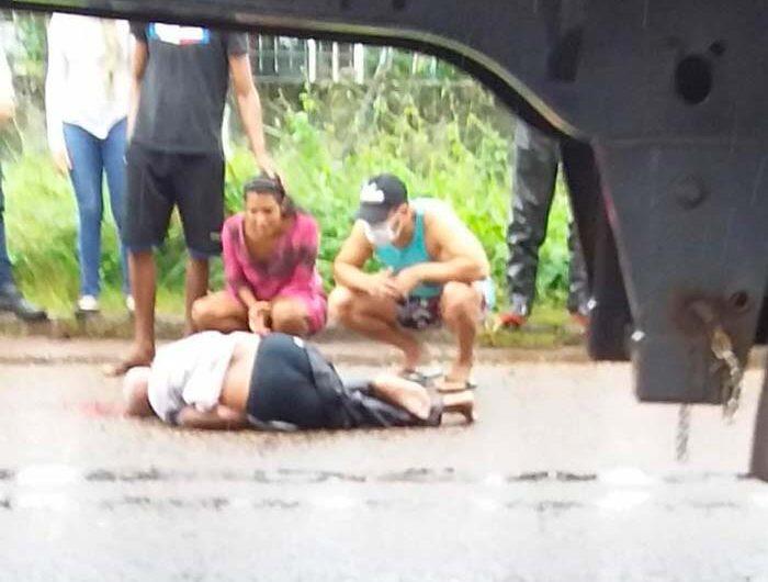 Motorista foge após atropelar e matar idoso