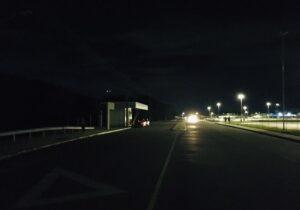 Escuridão no entorno do Aeroporto de Macapá