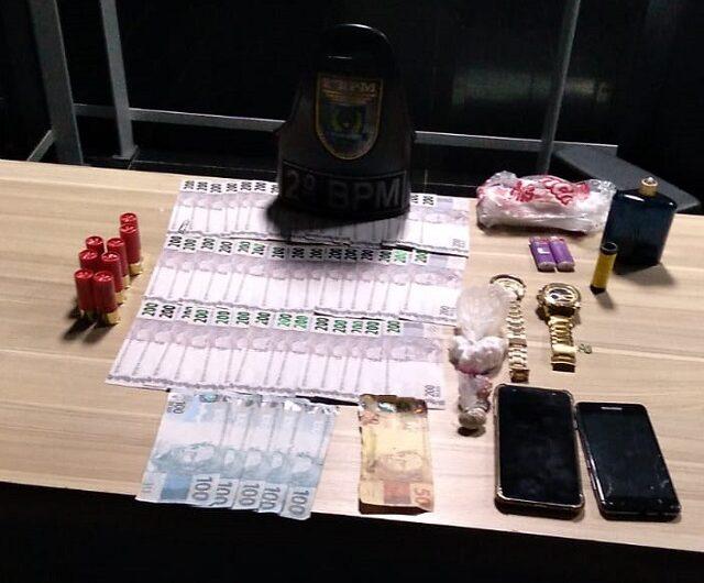 Membro de facção é preso com notas falsas de R$ 200